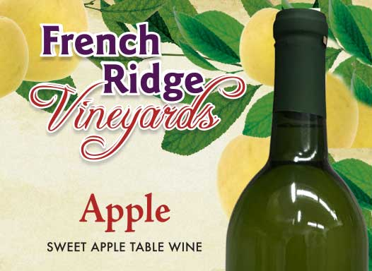 French Ridge Vineyards — Apple Wine