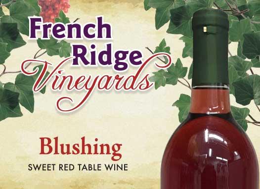 French Ridge Vineyards — Blushing Wine