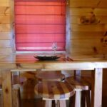 French Ridge Vineyards Cabin — Dining Area