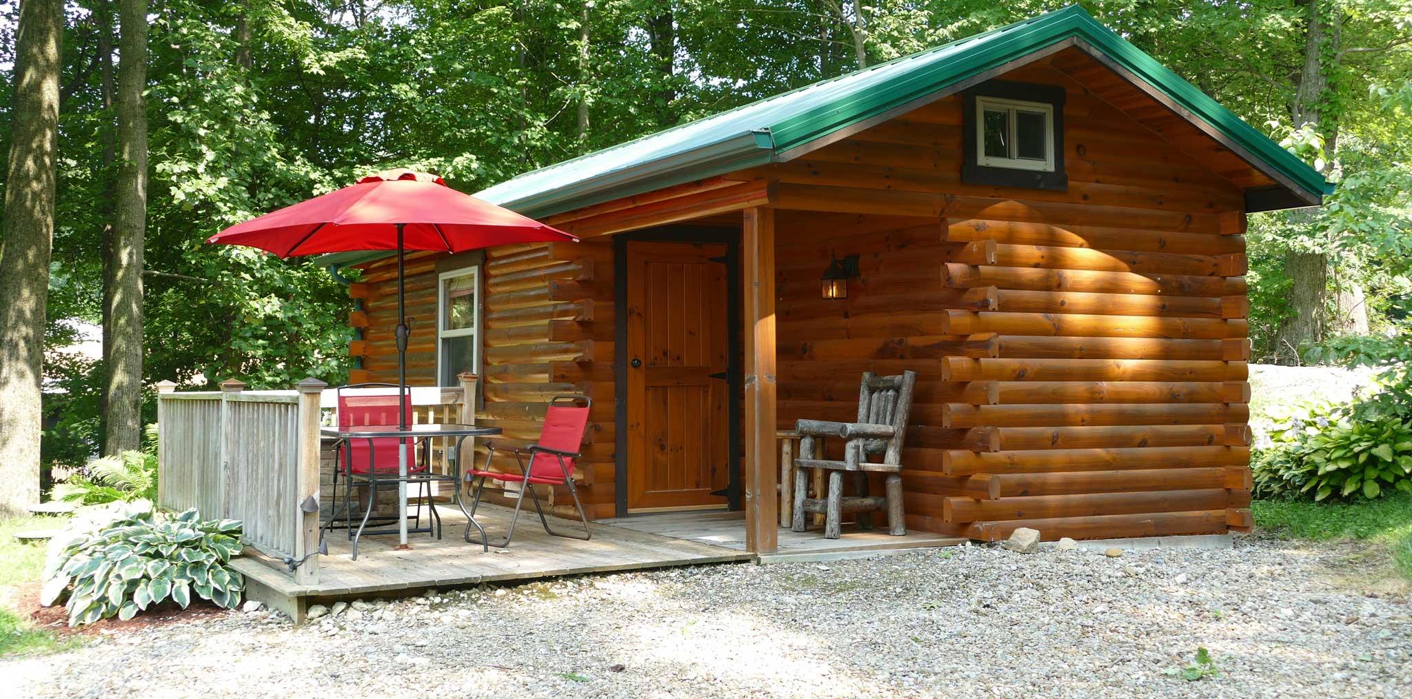 French Ridge Vineyards Cabin — Sleeps Two