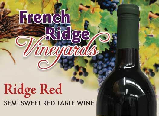 French Ridge Vineyards — Ridge Red Wine