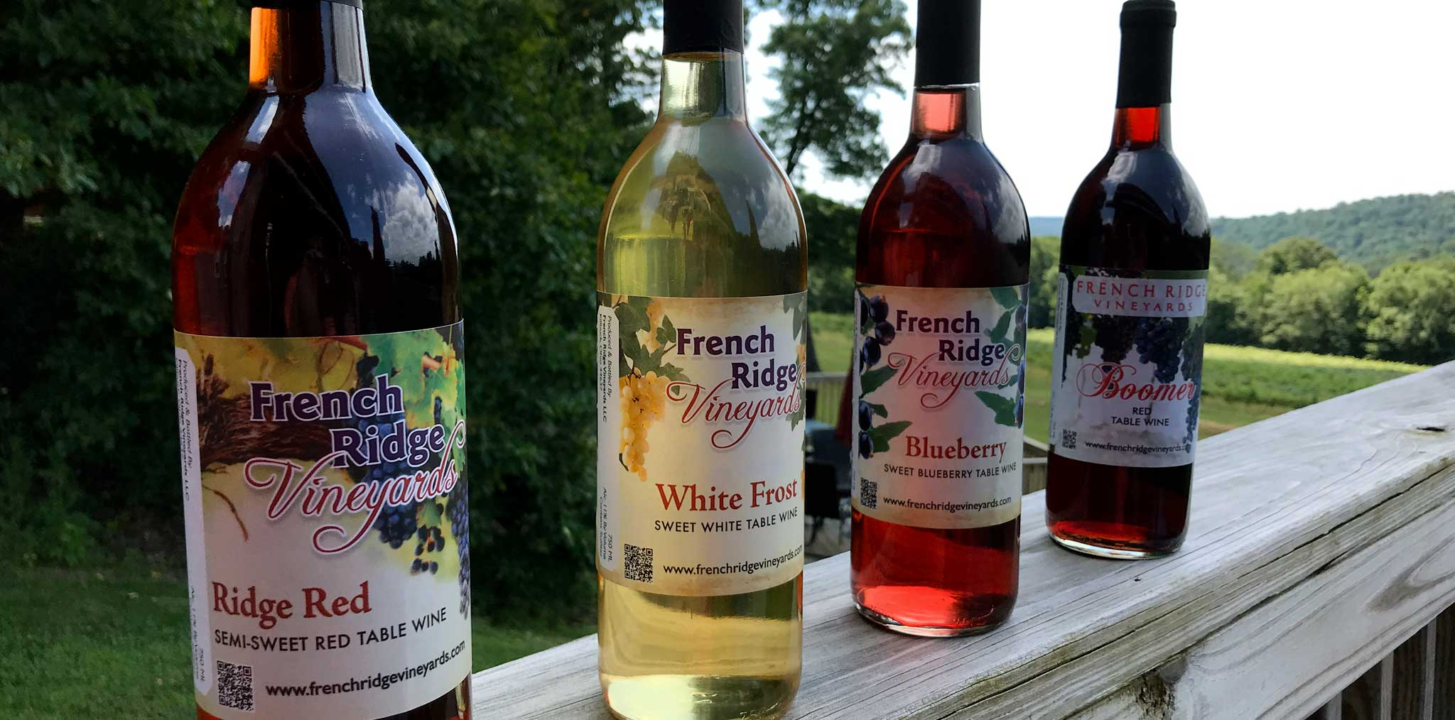 French Ridge Vineyards —Wine Varieties